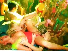 Crazy drunk sluts get banged at a orgy party