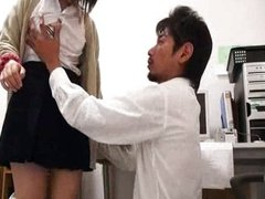 Japanese teen being hammered big time
