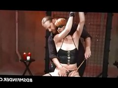 Caned Strapped Waxed And Toyed