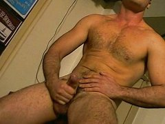 Wanking all over the place