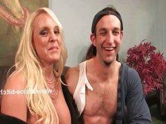 Blonde milf mistress femdom sex
