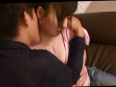 Asian milf gets oral and rimjob