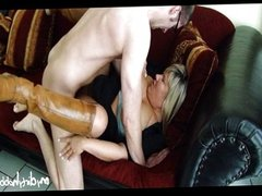 German MILF hungry for some young cock