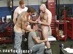Ass Rimming and cock sucking groupsex