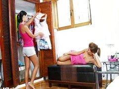 Beautiful women dildoing snatches