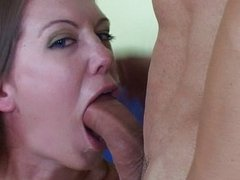 Beautiful chick wrenched in ass and pussy