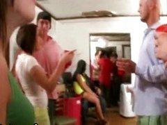 Teen college sluts sucking hard cock