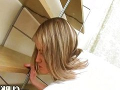 ultra sexy blond masturbation on HD cam