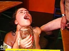 Golden shower fetish piss bukkake