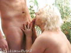 experienced horny granny