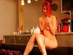Special gift for redhead teen