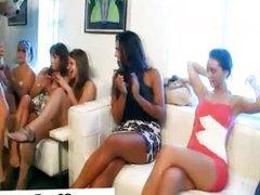 Cfnm horny girls giving bj