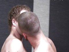 Cole Gartner kisses Kenny Coors