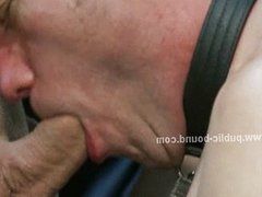 Strong gay hunks tricking boy to fuck