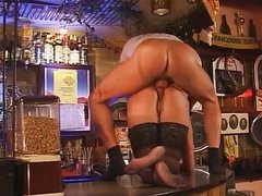 Sex in the bar