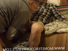 Playing With XL Cock And Massive Load Of Cum