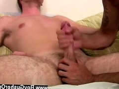 Teen boy gay anal tube Geo teased Mason's