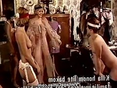 Group of Girls Learning to Fuck with Bananas (1970s Vintage)