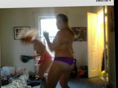 2 Sexy teens dance for me