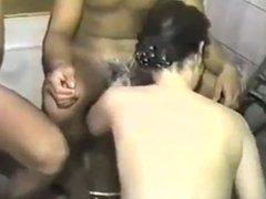 Vintage Asian Group Sex