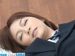 Meguru Kosaka amazes with her smooth blowjob