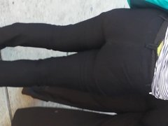 candid double Jamaican booty