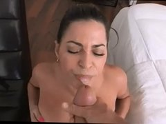 pov facial 66 huge load facial