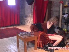 Erotic backstage with czech amateur ladies