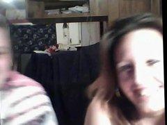 Horny Fat BBW Teen having fun with horny Chubby Lesbians-3