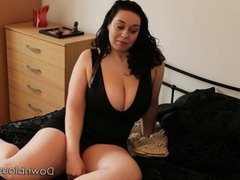 bbw cant get tits in her bra - trailer