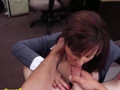 Curvy Milf Blows And Bangs For Bail Cash