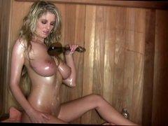 Jenny McClain - The Sauna Ain't What Makes This Scene Hot