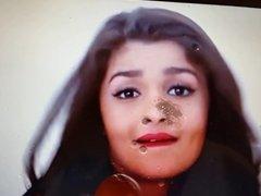 Cum Shower For Alia Bhatt - Tribute #4