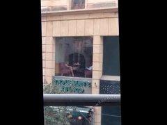 Lebanese Slut Masturbates At Starbucks
