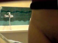 Cousin Iwona in bath