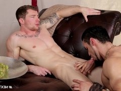 Next Door Buddies Getting Fucked by an Adonis