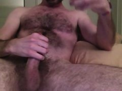 Hottest Hairy Cock Stokes