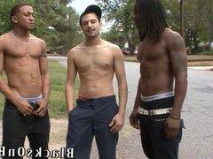 Vinnie Tuscano Having A Fun Time With Black Guys