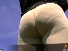 Ana has a thick ass and a juicy cameltoe