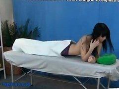 Anal sex massage with beautiful