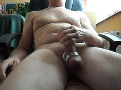 Quick wank before going to work.