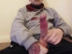 semi hard long cock
