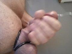 Vibration inside cock urethra