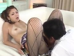 Mai Kuroki horny mom deals young dick in her