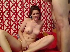 Romanian Cory takes another load on her face