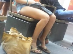 Bare Candid Legs - BCL#158