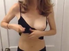 girl getting milk out of her boobs