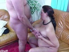 German Mom With Monster Tits in Casting