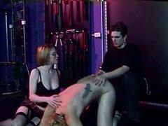 Kinky sex 3 some with BDSM girls