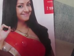 Cumming all over Beautiful Jyothika